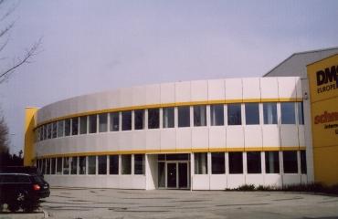 Neubau Verwaltungsgebäude und Containerlager in Böblingen