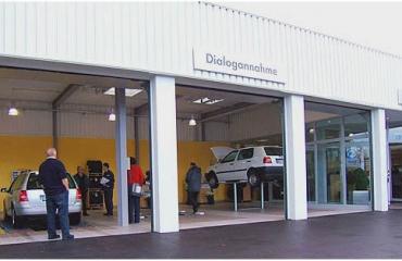 Umgestaltung der Dialogannahme des VW-Betriebs