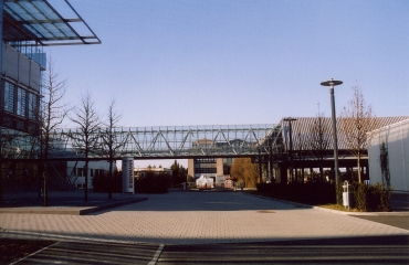 Neubau Transportbrücke in Böblingen