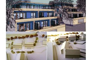 Neubau von Mehrfamilienhäusern in Stuttgart
