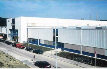 Produktionsgebäude Jenoptik AG Jena-Göschwitz