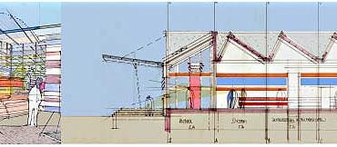 Neugestaltung Fassade / Sanierung Industriegebäude in Stuttgart._2
