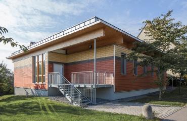 Karl-Georg-Haldenwang-Schule, Werkstätten für Geistigbehinderte in Leonberg.