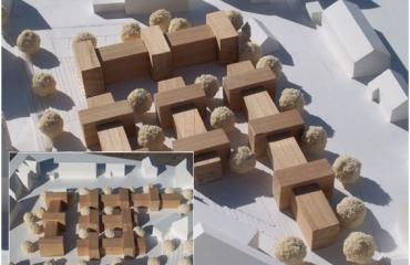 Melap Architektenwettbewerb in Oberndorf a. N., Städtebau und Wohnungsbau 2. Rang