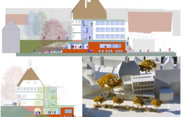 Wettbewerb Wildberg Erweiterung und Umbau Rathaus Wildberg / Eingeladener Wettbewerb 2. Preis