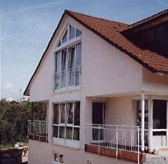 Neubau Doppelhauswohnanlage in Böblingen