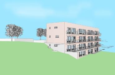 Neubau von 32 Microappartements in Tübingen