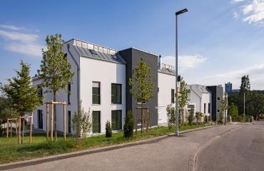 Neubau von zwei Mehrfamilienhäusern mit Tiefgarage und Autoaufzug in Stuttgart_2