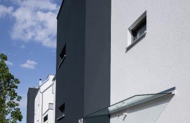 Neubau von zwei Mehrfamilienhäusern mit Tiefgarage und Autoaufzug in Stuttgart_3