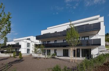 Neubau von zwei Mehrfamilienhäusern mit Tiefgarage und Autoaufzug in Stuttgart_4