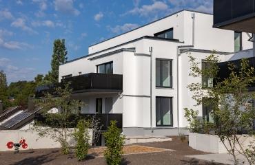 Neubau von zwei Mehrfamilienhäusern mit Tiefgarage und Autoaufzug in Stuttgart_5