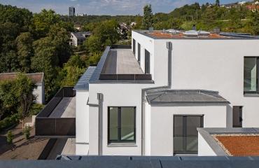 Neubau von zwei Mehrfamilienhäusern mit Tiefgarage und Autoaufzug in Stuttgart_6